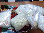 Hai Phong: Police smash two drug trafficking cases at airport