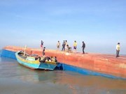 Fishing boat sinks, 13 rescued, four still missing