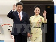 State welcome ceremony accorded to Chinese Party chief