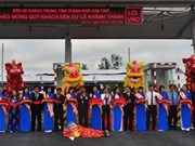 Most modern bus station inaugurated in Mekong Delta