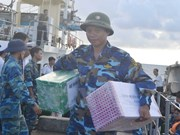 Tet gifts come to Truong Sa island district
