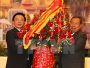 Lao leaders receive Vietnamese Party chief's special envoy