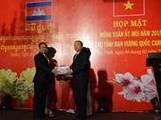 Tay Ninh, Cambodian localities strengthen friendship