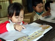 Military teacher promotes joy of learning on Hon Chuoi Island