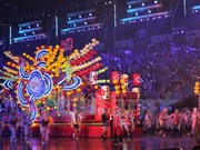 Chingay Parade lights up Singapore