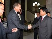Hanoi leader welcomes Mormon Church representatives