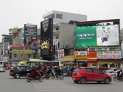 Hanoi tightens control of advertising displays