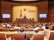 Eighth working day of NA's 11th meeting