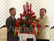 Vietnamese diplomat congratulates Laos' newly-elected President