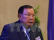Lao Party chief pays official friendly visit to Vietnam
