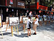 Photo exhibition marks national reunification day
