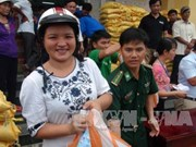 Quang Tri: 7,300 gift packages sent to affected fishermen