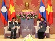 Top legislator meets with Lao Prime Minister