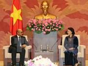 NA Chairwoman hosts Cuban Ambassador
