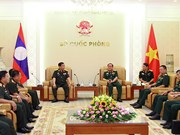 Vietnam fosters defence links with Laos, US