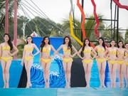 Miss Vietnam contestants in bikini