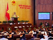 Sixth working day of 14th National Assembly's first session