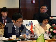 ASEAN economic ministers hold consultation with partner countries