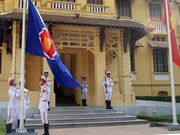 ASEAN flag raised in Hanoi on ASEAN's foundation day