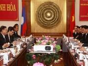 Lao NA Vice Chairman visits Thanh Hoa