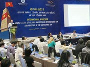 Call for peace, stability in East Sea repeated at int'l workshop