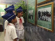 Exhibition features late leader's imprints on Vietnam-France relations