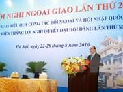 Int'l economic integration promotion – focal diplomatic task: PM