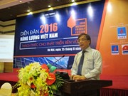Vietnam to develop energy for sustainable development