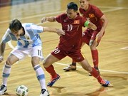 Argentina beat Vietnam in futsal match