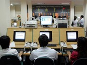 Shares end mixed on week's last trading session