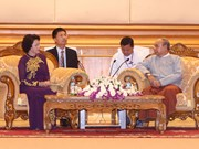 Vietnam's parliament resolved to bolster ties with Myanmar: Chairwoman