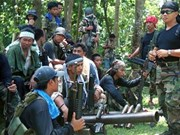 Philippine insurgents kidnap German citizen
