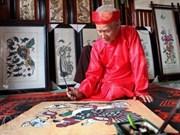 Preservation efforts made as folk paintings face disintegration