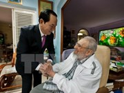 President thanks Cuban counterpart for warm welcome