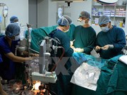 First extrathoracic heart case successfully operated
