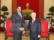 Party leader welcomes Venezuelan President