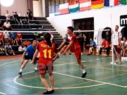 Vietnam attends world shuttlecock championship in Italy