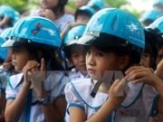Safe helmet use spotlighted in Hanoi