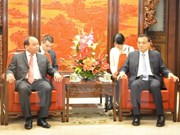 Deputy Prime Minister meets Chinese Premier