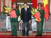Military officials promoted to General
