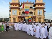 Festival marks 90th anniversary of Cao Dai religion