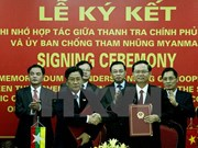 Vietnam, Myanmar sign MoU on anti-corruption