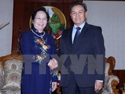Vice President asks for Lao NA's support of Vietnamese investors