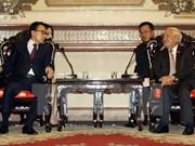 Ho Chi Minh City leader meets former RoK President