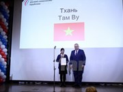 Vietnamese teacher wins dual Russian language awards