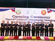 Vietnam attends ASEAN Sci-Tech Ministerial Meeting in Laos