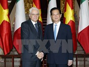 PM delighted at cooperation agreements with Italy
