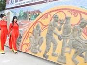 Venezuela ceramic mosaic section inaugurated in Hanoi