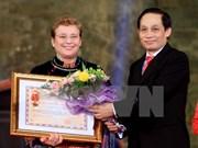 UNESCO's 70th founding anniversary marked in Hanoi
