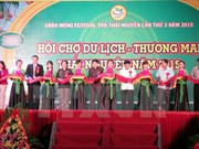 Festival promotes Thai Nguyen tea products